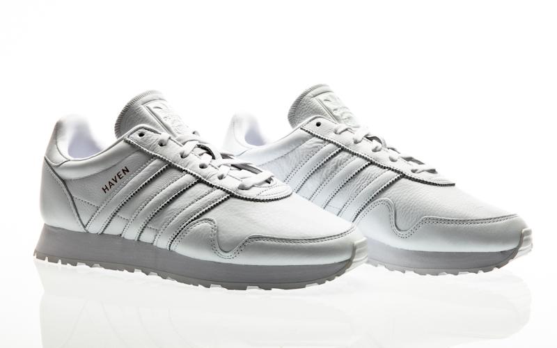 adidas originals haven lgh solid grey-ftwr white-clear granite men running  BB2738 fe2208ce921