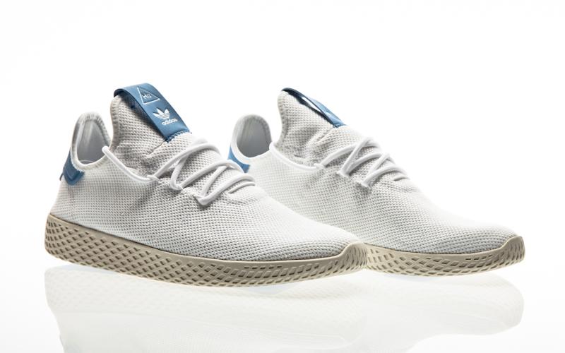 hot sale online 21cc3 a4600 adidas Originals PW Tennis HU PK chalk white-core black-ftwr white Men  Tennis CQ2630