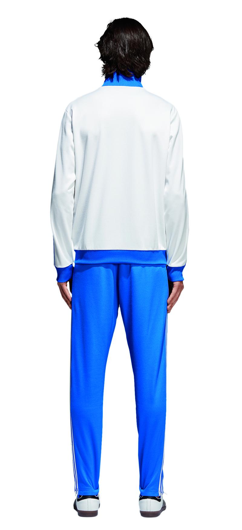 Details about Adidas Originals Franz Beckenbauer Tracksuit White Tracksuit Bottoms