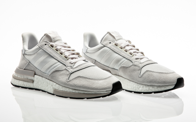 brand new 944ac 9a375 adidas originals ZX 500 RM core black ftwr white core black men running  B42227