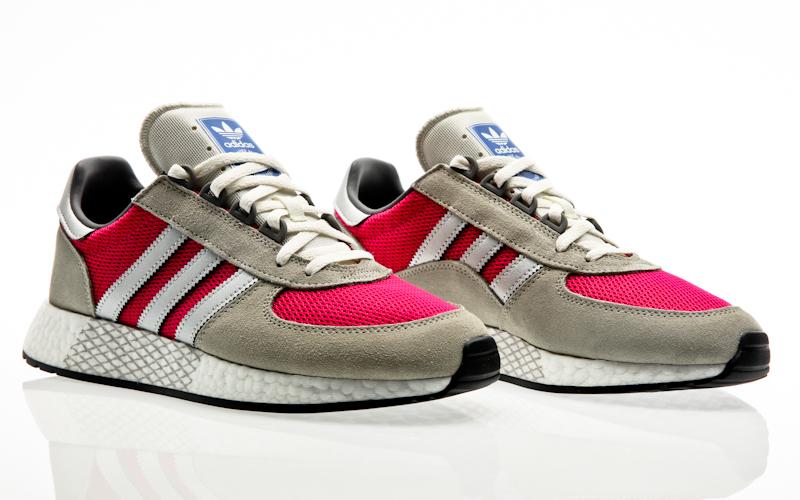 best authentic 7d1e1 9ce9c adidas Originals Marathon Tech Rouge-core noir Homme Running G27419