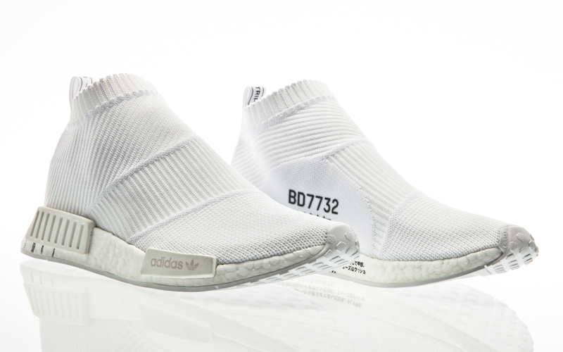 best sneakers a18b2 cd0f0 adidas Originals NMD CS1 PK core noir-core noir-chaussure blanc Hommes  Running BD7733