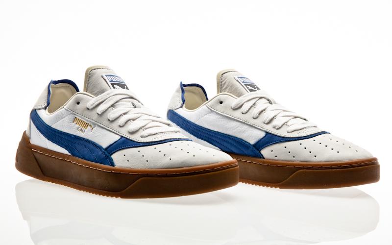 Puma Cali 0 Vintage (weiß grün) 369663 02 | 43einhalb Sneaker Store