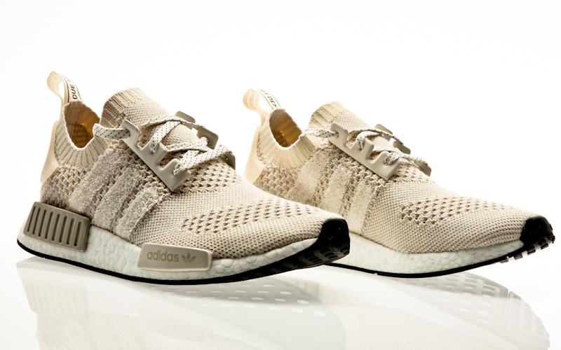 adidas NMD R1 PK 'French BEIGE' Herren Schuh, Größe US 11, UK 10