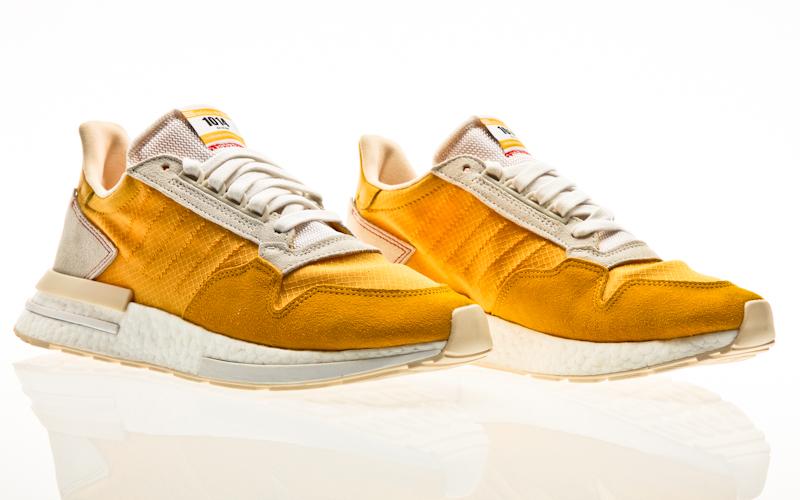 Détails sur Adidas Original Zx 500 RM Homme Baskets Chaussures Homme Course Chaussures
